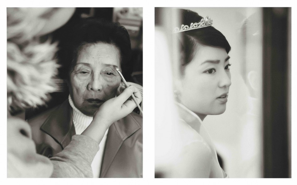 Chinese Black and White Wedding Photography