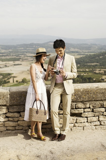 Destination Pre-Wedding Photography in Provence