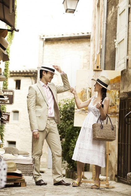 Destination Pre-wedding photography Provence 05