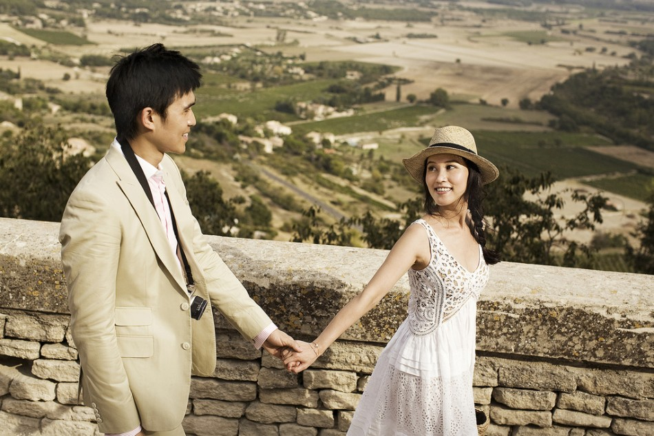 Destination Pre-wedding photography provence 13