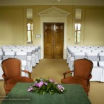 Rushton Hall Wedding Ceremony Room