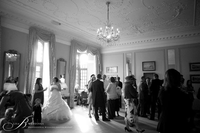 Rushton Hall Wedding Party