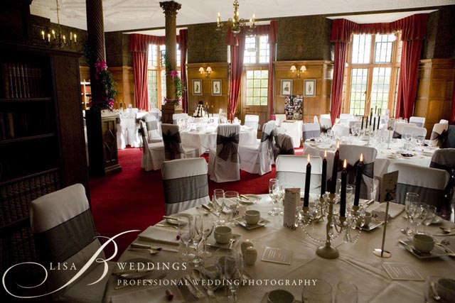 Wedding breakfast venue Rushton Hall