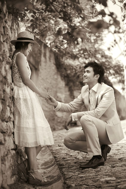 Pre Wedding Engagement Shoot Provence (25)
