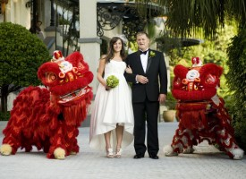 Chinese wedding photography by Lisa B