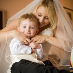 bride-with-children-photo-northamptonshire
