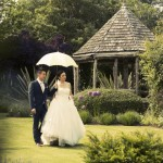 Wedding vintage style photograph