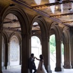 Romantic pre wedding photo in New York Central Park