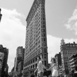 Flatiron Building pre wedding shoot by Lisa Burrett