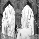 Brooklyn Bridge pre wedding photo shoot