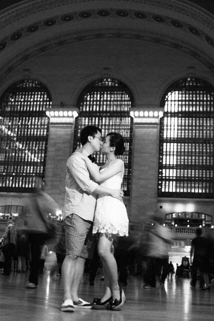 Pre wedding in Central station New York