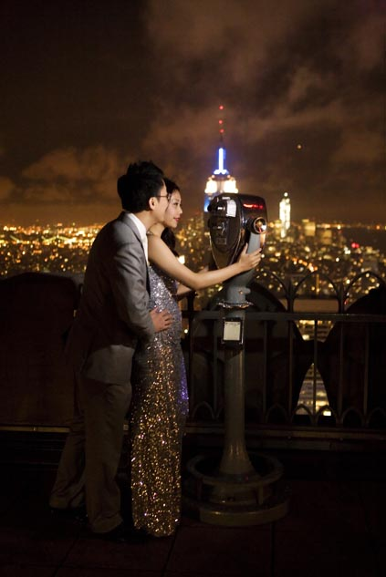 pre wedding photos in New York