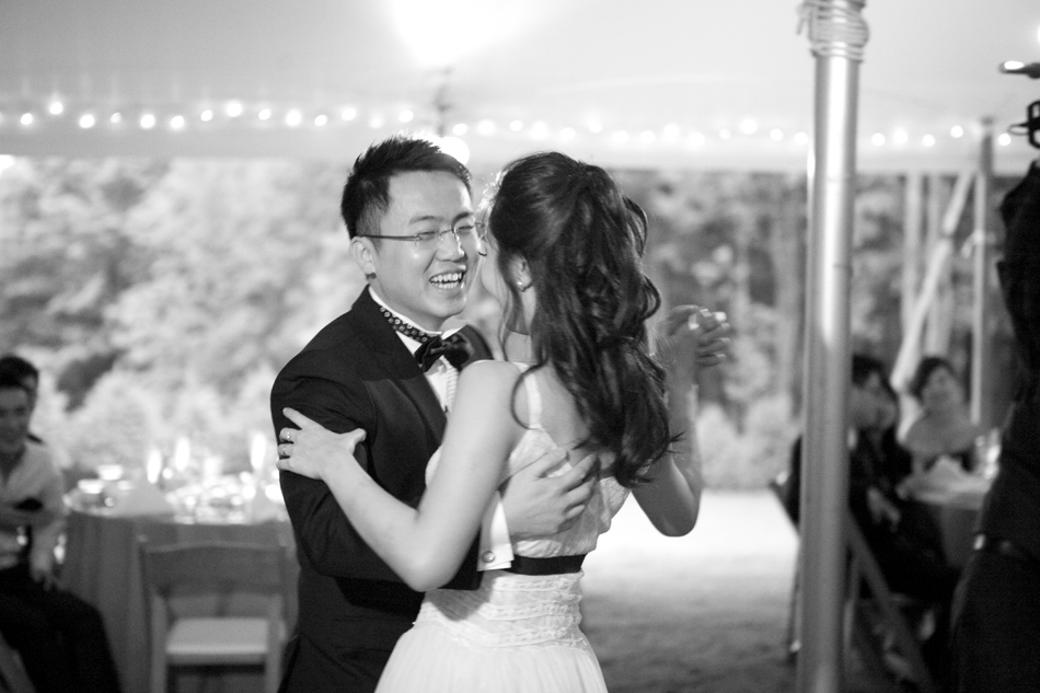 photo of first dance by Lisa Burrett Photography