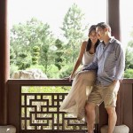 Relaxed pre wedding photography