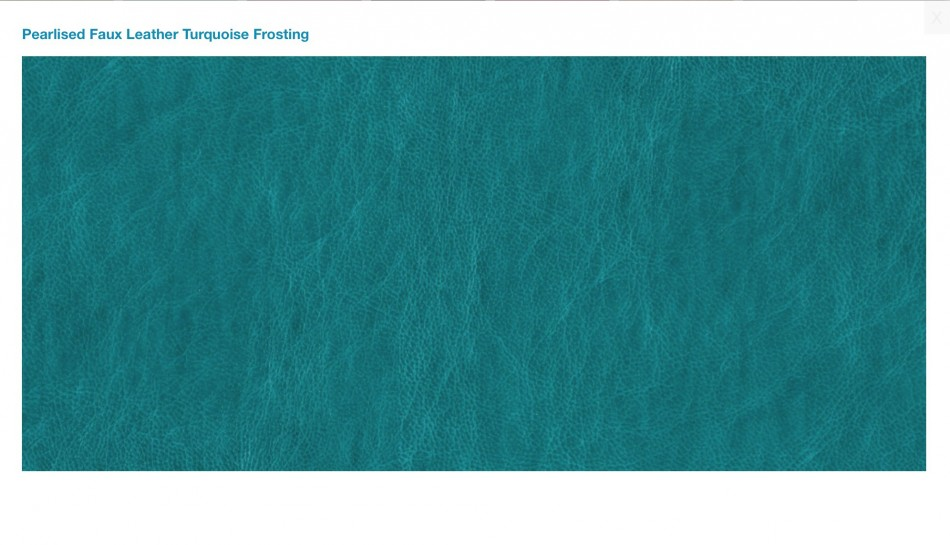 Pearlised Turquoise Frosting